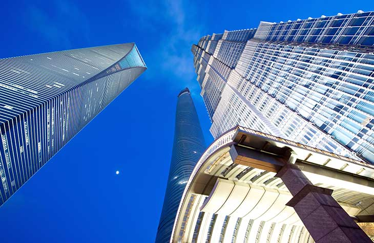 Pixinity Pudong Towers Photography