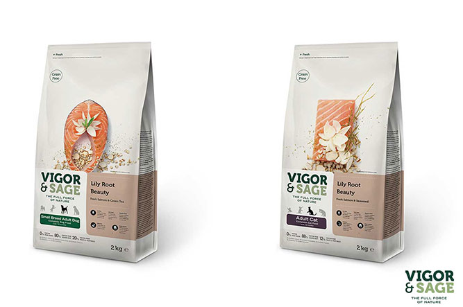 Vigor & Sage Pet food